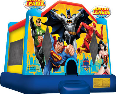 Justice League Bounce House 13x14